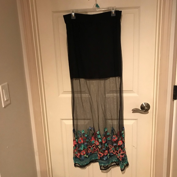 Crazy Train Dresses & Skirts - Mesh skirt